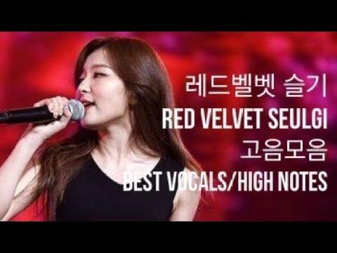 레드벨벳 슬기 Red Velvet Seulgi 고음모음 Best Vocals/High Notes