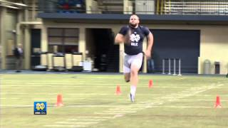 Sights and Sounds - NFL Pro Day - Notre Dame Football