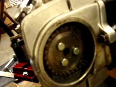 how to remove the top end off pit bike for new piston ! 1 of 2