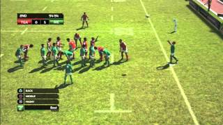 Rugby World Cup 2011 game: Tonga vs Ireland, Pacific Island Tour Match 1: : Rugby Gameplay
