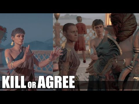 Agree With Hekate Witch VS Kill Witch ( All Choices ) - Heart Of Stone - Assassin's Creed Odyssey