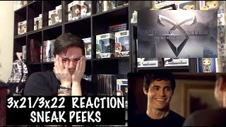 SHADOWHUNTERS  - 3x21/3x22 SNEAK PEEKS REACTION