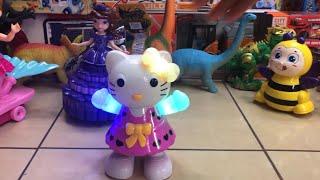 Toy Princess Dance Battle: Hello Kitty, Sofia, Mermaids+ SURPRISE GUEST at www.JucariiPentruTine.com
