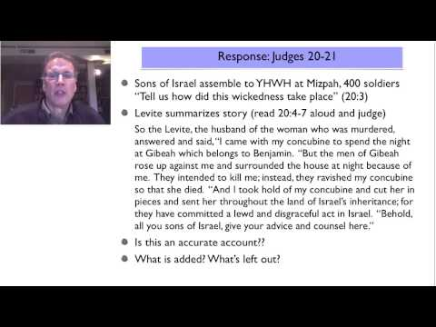 Considering the Victim, Judges19 & drone warfare