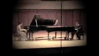 Rachmaninoff - Suite No. 2, Op. 17 IV. Tarantella- Miriam Jameson & Eugene Sedletsky