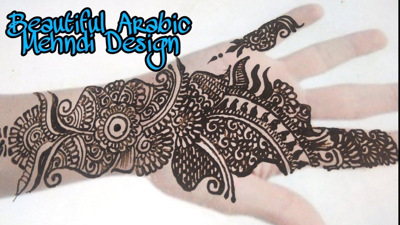 Full Hand Arabic Mehndi design for Hand Front Hand mehndi Designs Mehndi designs 2020