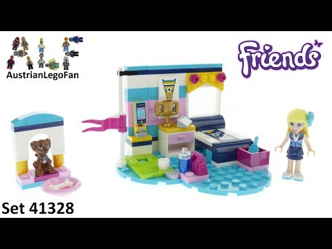 Lego Friends 41328 Stephanies Bedroom Lego Speed Build
