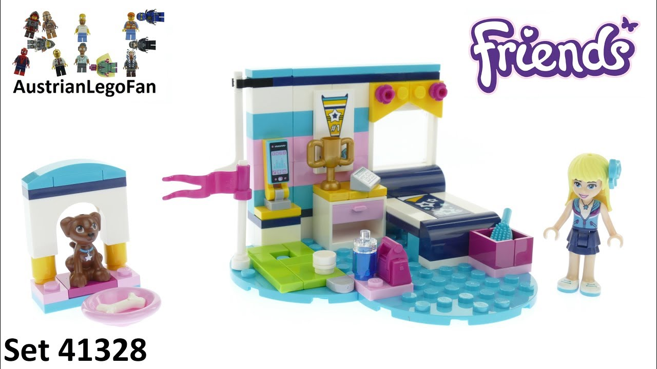 Lego Friends 41328 Stephanies Bedroom Lego Speed Build Review