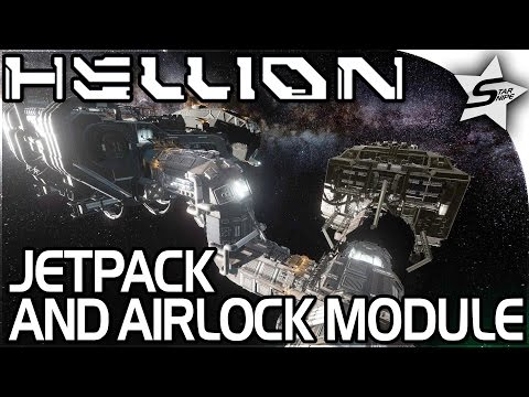 "HELLION - ""Space JETPACK, AIRLOCK MODULE, FULLY WORKING BASE!"" - Hellion Gameplay Part 2 (Tutorial)"