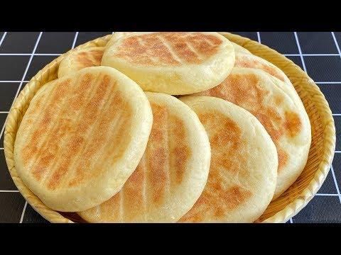 发面山药饼,简单一烙,有利于脾胃消化促进吸收,老人孩子都爱吃 【三丰美食】