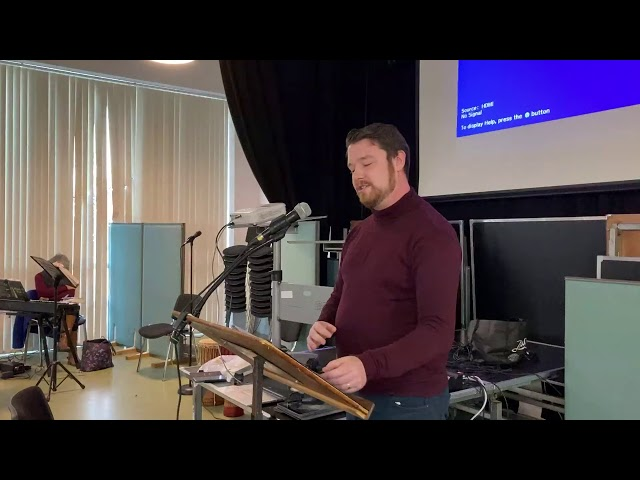 Luke 1:1-25 Sermon - 6 December 2020