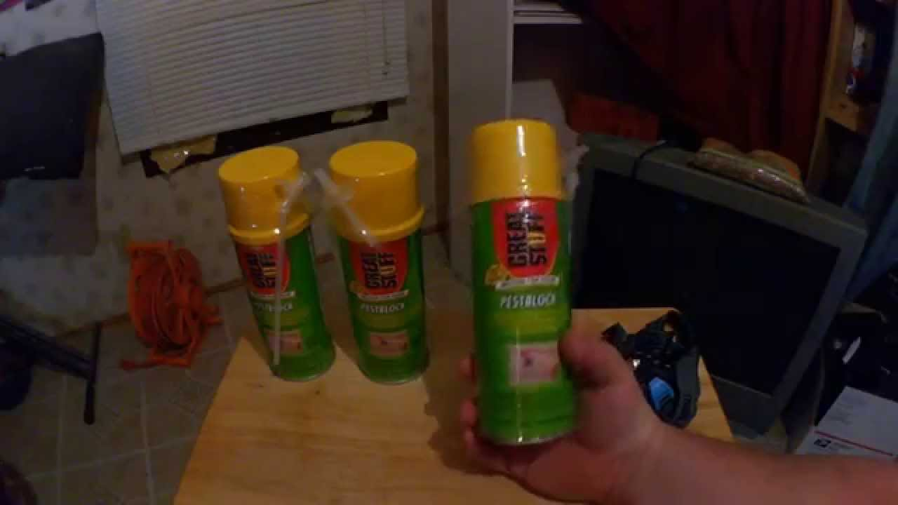 2015 2 14 UnBoxing Great Stuff 11000714 12 Ounce Pest Block Sealant