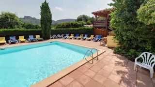 Visite virtuelle 360° du camping Le Luberon à Apt (84)