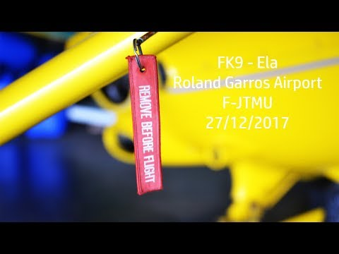 IRL | Fly over Reunion Island | FK9 Ela - Roland Garros Airp