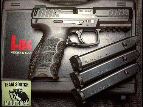 HK VP40 40 Caliber Pistol Review