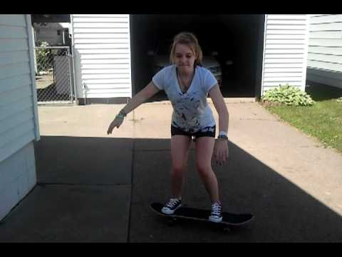 me attempting an ollie