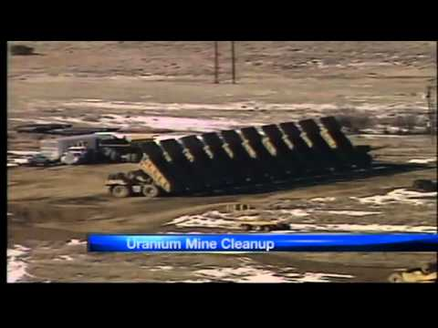 Feds fund uranium mine cleanup