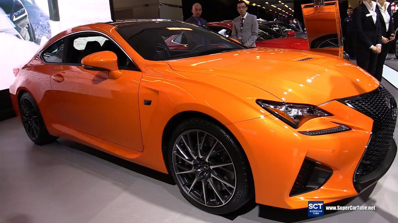2016 lexus rc f exterior and interior walkaround 2016 montreal auto show youtube. Black Bedroom Furniture Sets. Home Design Ideas