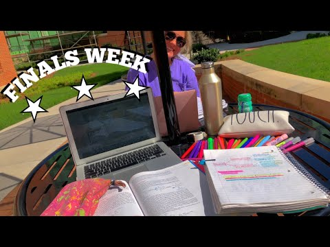 FINALS WEEK IN COLLEGE - UNIVERSITY OF TENNESSEE