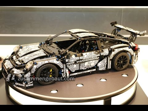 lego technic porsche 911 gt3 camouflage graphic youtube. Black Bedroom Furniture Sets. Home Design Ideas