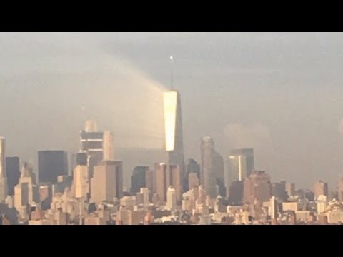 Sunlight Causes One World Trade Center Building To Glow Before 9/11 Anniversary
