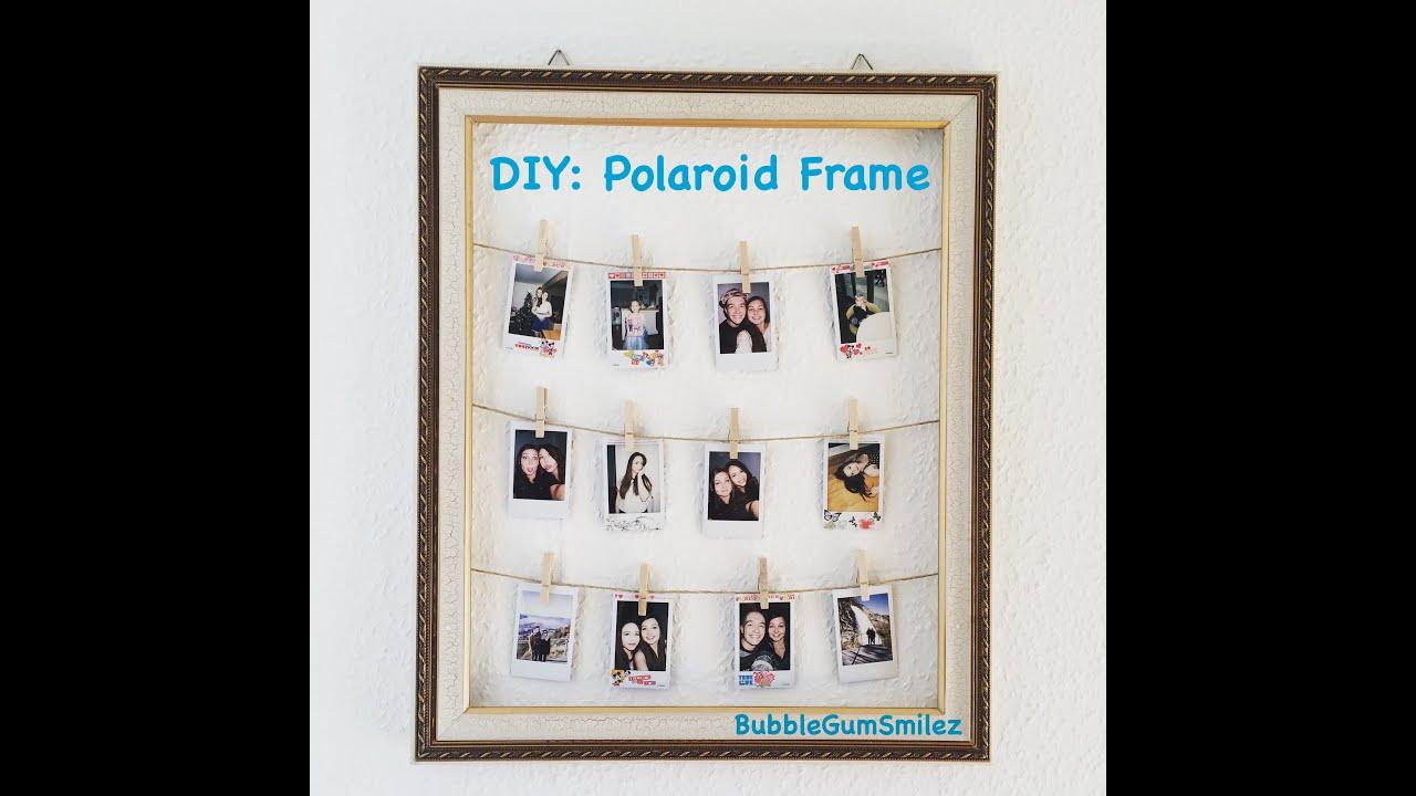 DIY: Polaroid Frame - YouTube