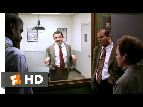 Bean (6/12) Movie CLIP - The Two-Way Mirror (1997) HD