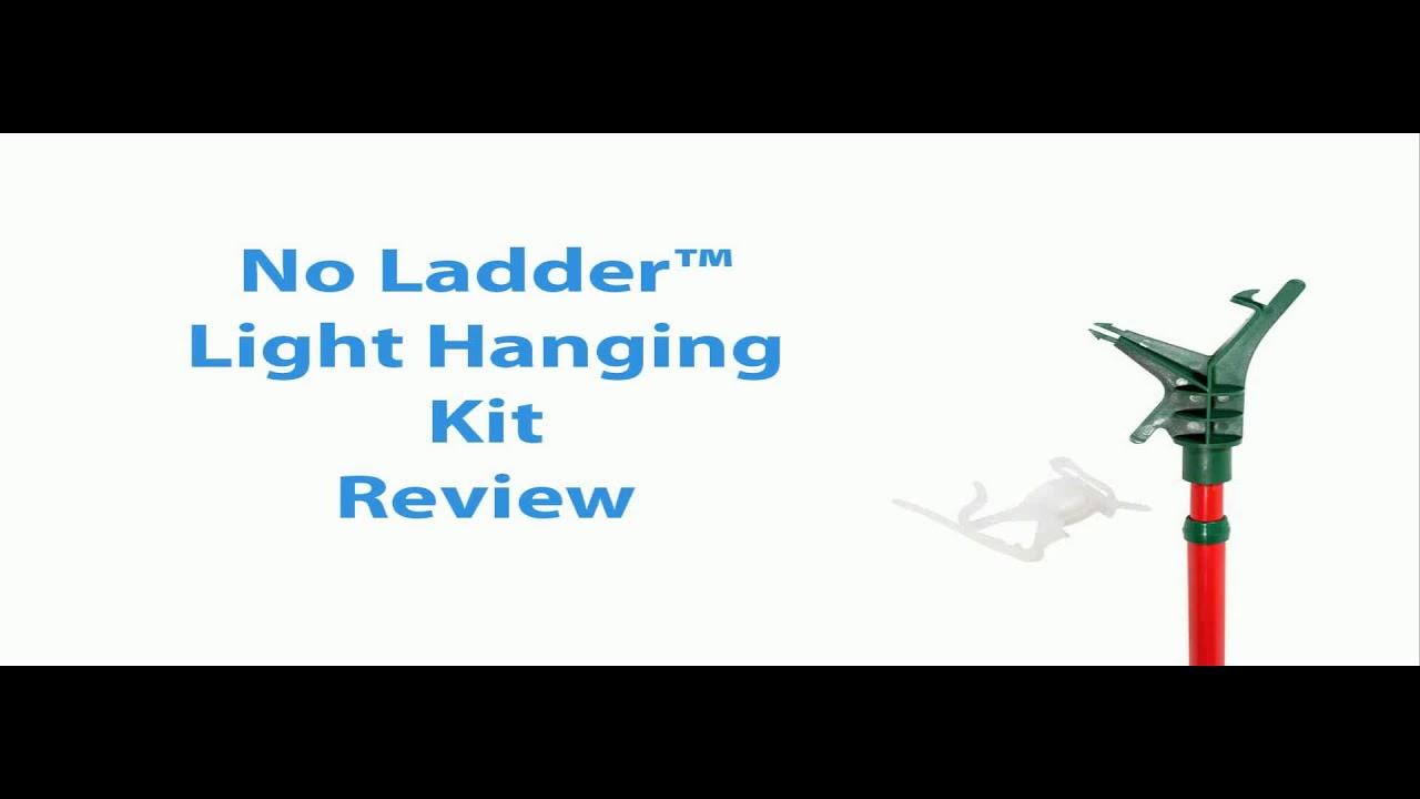 No Ladder Light Hanging Kit Lowes - YouTube