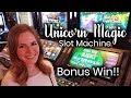 Unicorn Magic Slot Machine 🦄🦄🦄 Max Bet Bonus Win!!!