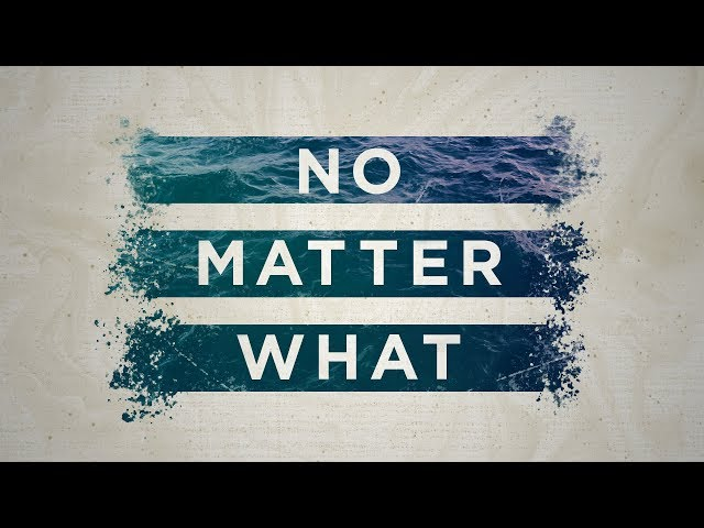 No Matter What: Christ Comes First | New Point Church