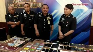 Police cripples another Macau scam syndicate operating from Bandar Baru Seri Petaling