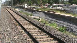Furious acceleration by Wappie while departing from Bishnupur: Aranyak Express