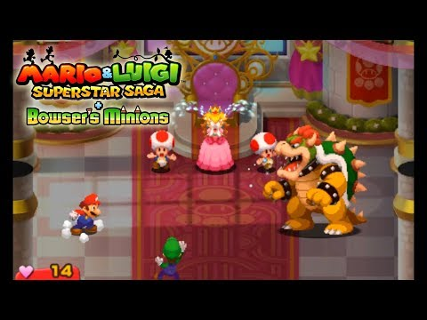 Mario & Luigi Superstar Saga + Bowser's Minions - Citra Emulator Canary Build 85 (CPU JIT) - 3DS - 동영상
