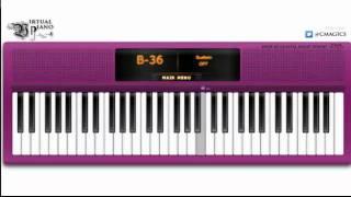 Virtual Piano - Skyscraper by Demi Lovato