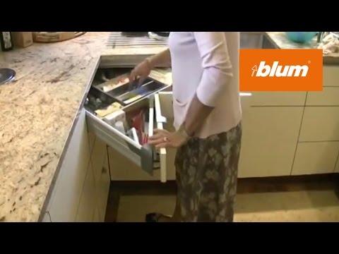 SPACE CORNER in the daily kitchen work | Blum