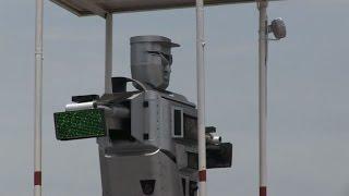 ثلاثة روبوتات جديدة لتنظيم حركة المرور في كينشاسا