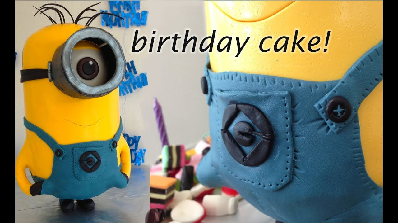 Minion Cake 3d Cake By How To Cook That Ann Reardon Youtube