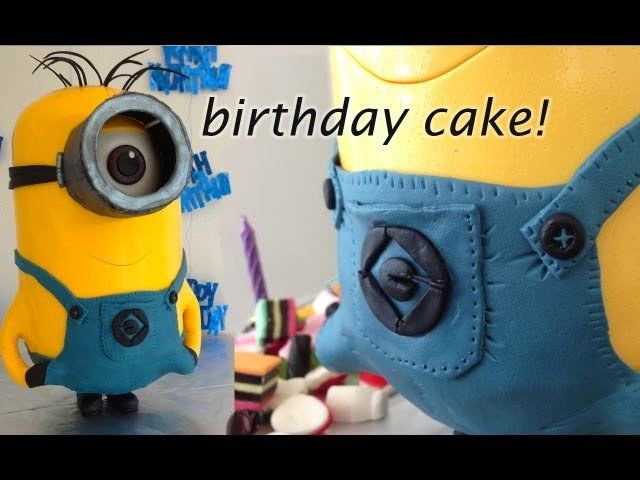 Despicable Me 2 3D Minion Cake HOW TO Cook That Ann Reardon Travel Video