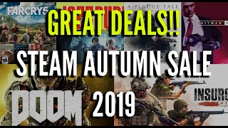 My Recommendations for the Steam Autumn Sale 2019