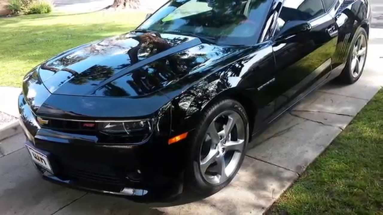 2014 Chevy Camaro 1LT RS Remote Start YouTube