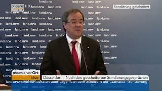 Armin Laschet zum Abbruch der Sondierungsgespräche am 20.11.17