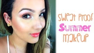 Sweat Proof Summer Makeup Routine for Oily Skin