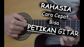 Download lagu RAHASIA Cara Cepat Bisa Petikan Gitar (PEMULA)