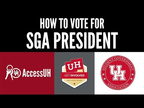 How to Vote in the 2019 SGA Elections