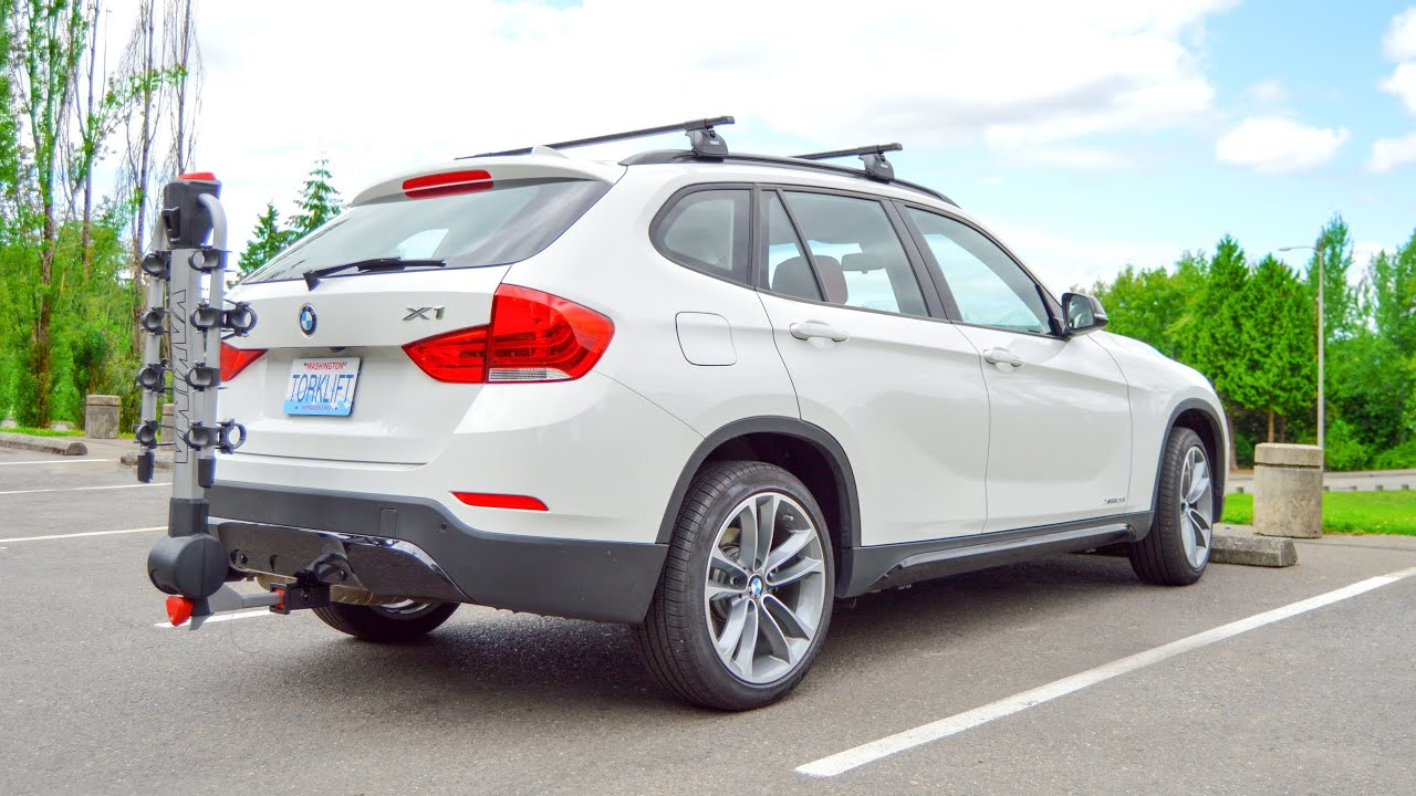 2013+ BMW X1 Stealth Ecohitch® Trailer Hitch Installation ...