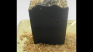 Making Black Hill Gold Activated Charcoal Cold Process Soap