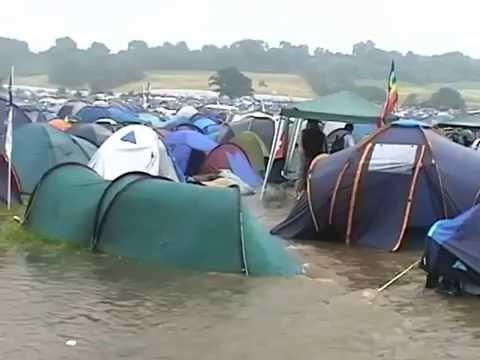 Glastonbury 2005 Flood