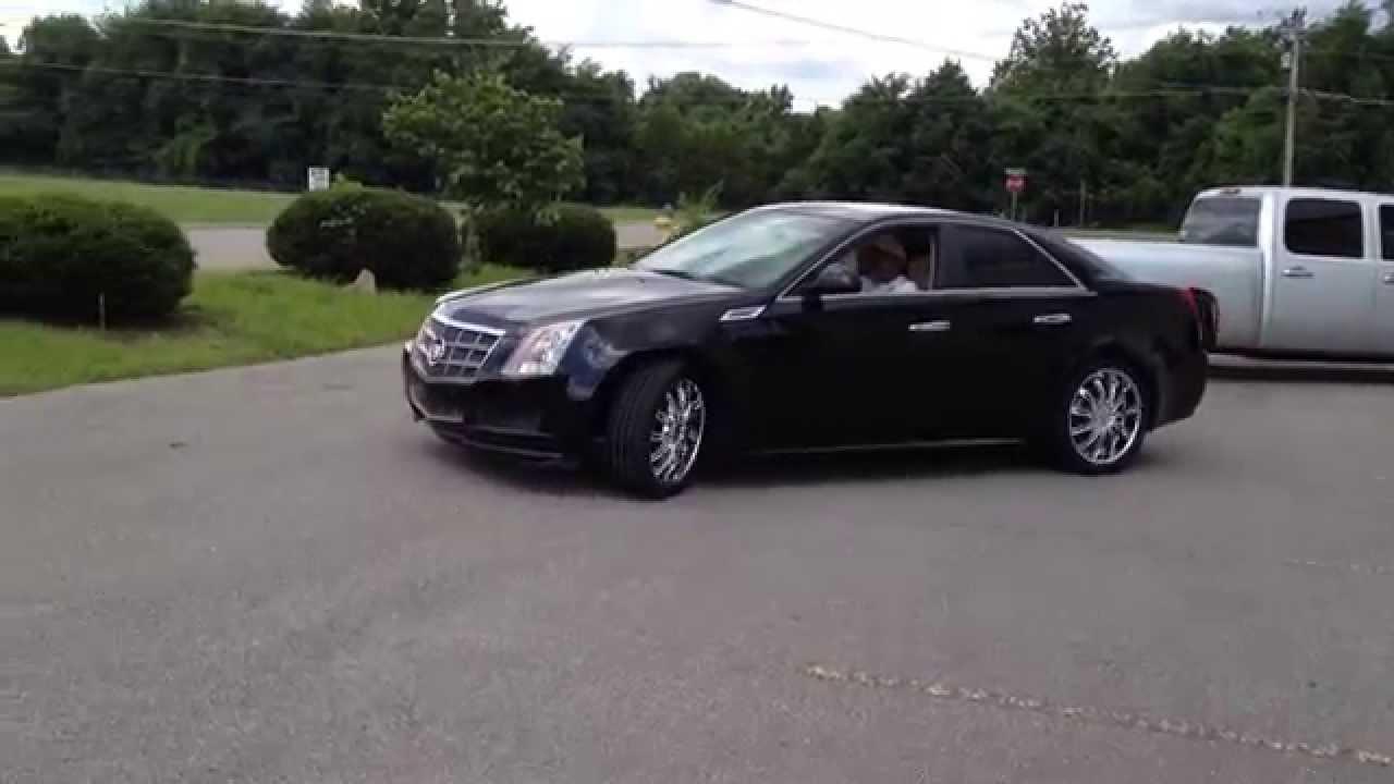 2010 Cadillac Cts 20 Inch Velocity V14 Wheels Youtube
