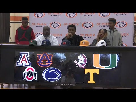 St. Pius X Early National Signing Day
