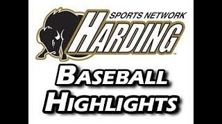 2018 Harding Baseball Highlights vs. Oklahoma Baptist